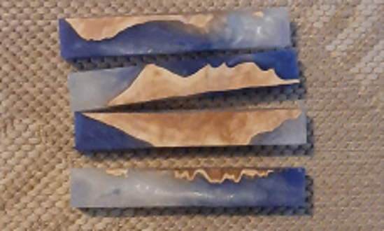 Picture of Sky, Earth  & Ice Acrylic Pen Blanks