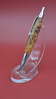 Picture of White Pine Burl Glow in Dark Senator Pen
